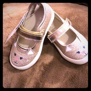 Carter Gold Toddler Shoes